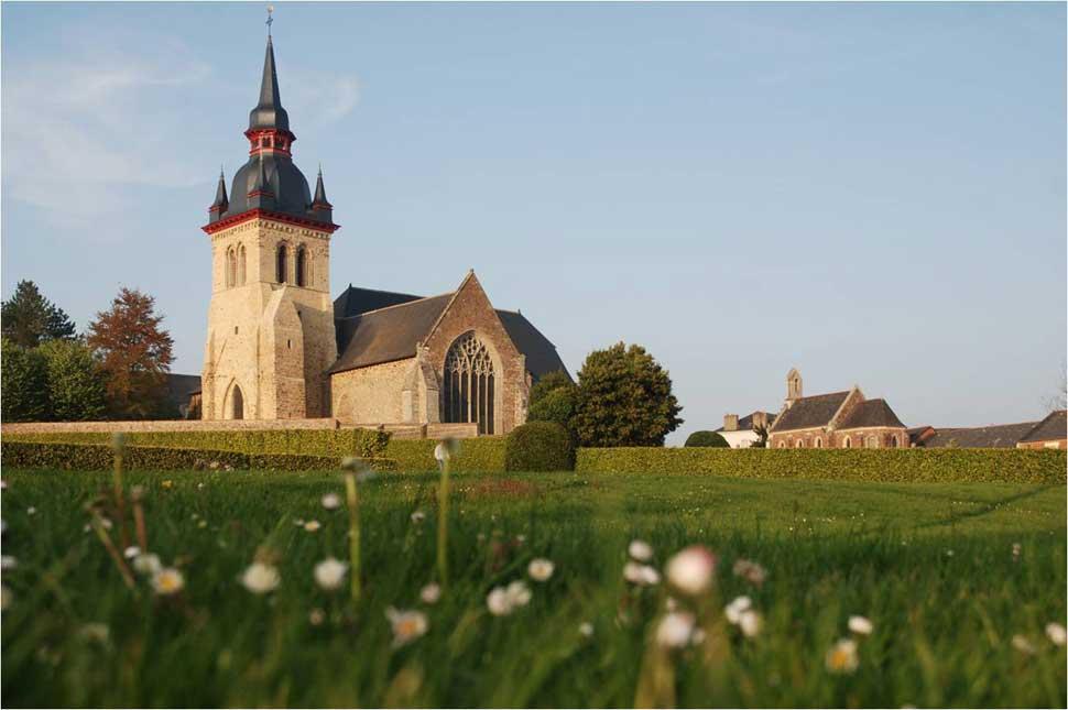 Abbaye-de-Saint-Méen Extérieur