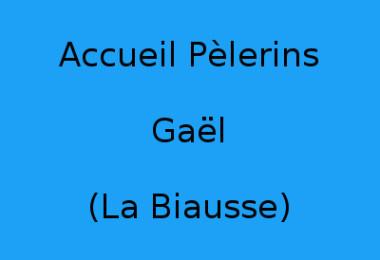 Accueil Pèlerins Gaël