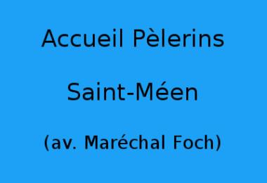 Accueil Pèlerins Saint-Méen (Mme Le Guen, av. Maréchal Foch)