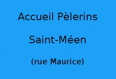 Accueil Pèlerins Saint-Méen (rue Maurice)