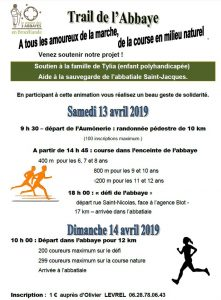 trail montfort 13-14 avril 2019