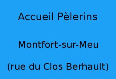 Accueil Pèlerins Montfort-sur-Meu