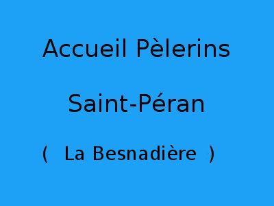 Accueil Pèlerins Saint-Péran