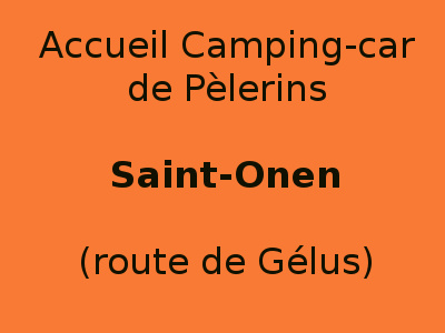 Accueil camping-cars St Onen